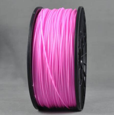ABS PINK Wanhao 3d Printer filament 1.75 mm plastic spool 1 kg