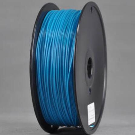 ABS Peacock BLUE 3d Printer filament 1.75 mm plastic spool 1 kg