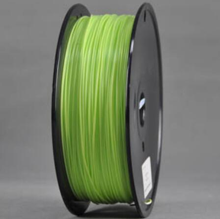 ABS Peak Green 3d Printer filament 1.75 mm plastic spool 1 kg
