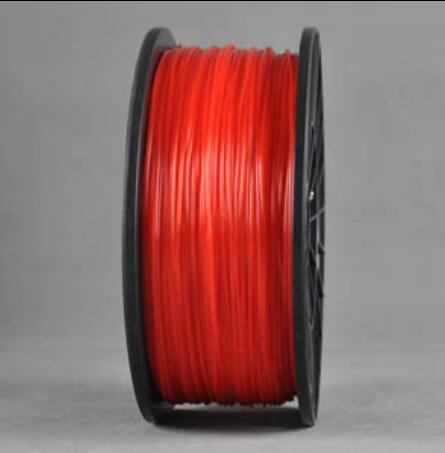 ABS RED 3d Printer filament 1.75 mm plastic spool 1 kg