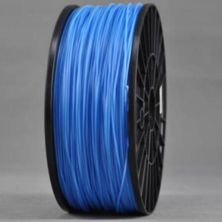 ABS Sky BLUE 3d Printer filament 1.75 mm plastic spool 1 kg