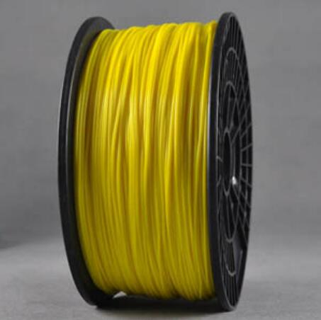 ABS Yellow 3d Printer filament 1.75 mm plastic spool 1 kg