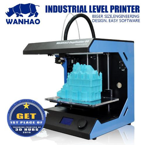 Wanhao D5S Large Printing Size High Precision 3D Printer  with Bowden Extruder
