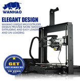 WANHAO I3 V2 Reprap Prusa 3D Printer w/ High Speed Extruder