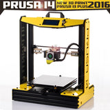 Prusa i3 plus i4 Large Aluminum High Quatity Precision 3d printer kit with 2 rolls filament + SD card