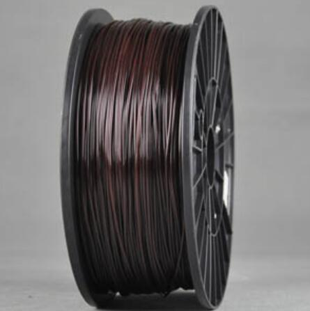 PLA BLAcK and BROWN 2 colors Wanhao 3d Printer filament PLA 1.75 mm plastic spool 1 kg