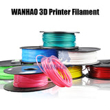 PLA Translucent 7 colors to choose Wanhao 3d Printer filament PLA 1.75 mm plastic spool 1 kg