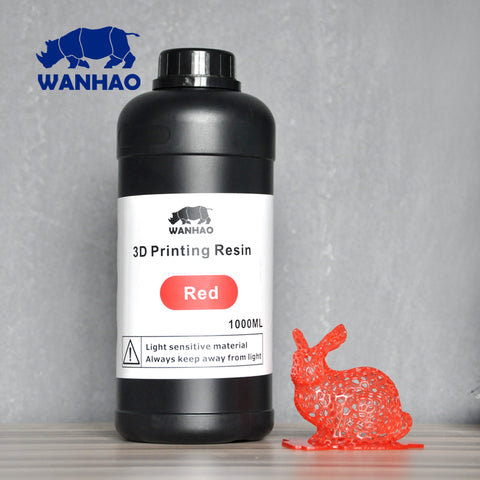 WANHAO hot sell D7 V1,4 3d printer UV resin 405 NM resin for sell 1 liter for 1000ml for 1 pack