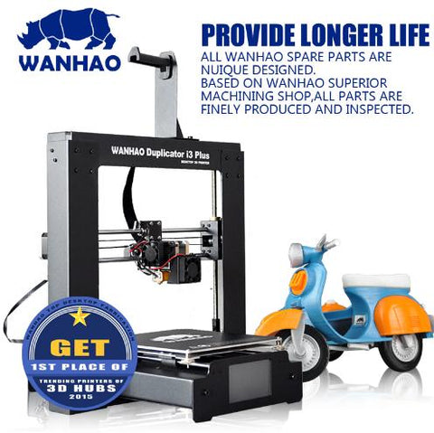 Wanhao 3D Printer Duplicator I3 PLUS Steel Frame for High Accuracy Desktop 3D printing