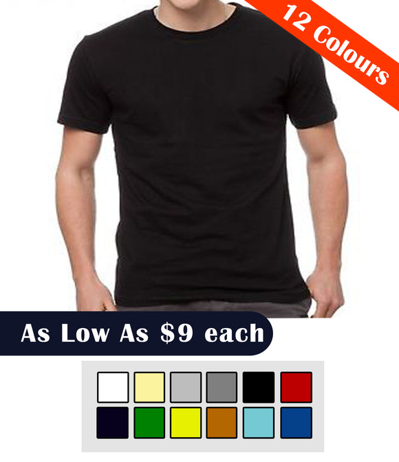 Custom T-shirt Printing - Round Neck