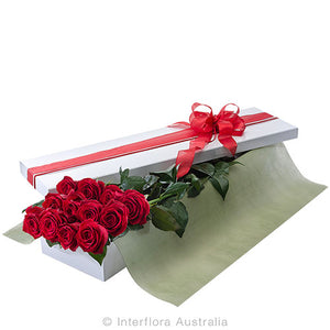 dozen red rose valentines day griffith leeton