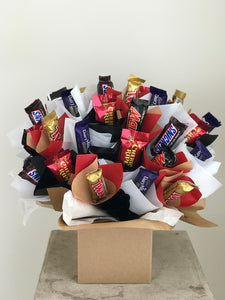 chocolate arrangement hamper in griffith and leeton