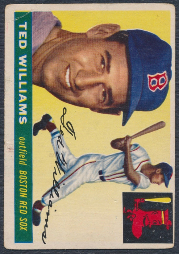 1955 Topps #2 Ted Williams VG