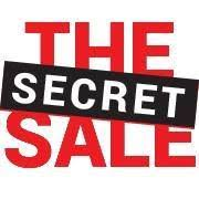 SUPER SECRET SALE