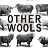 Other wools and fibers