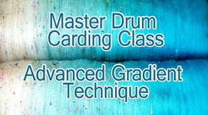 STREAM INSTANTLY     Do you have a drum carder and want to learn a new trick?