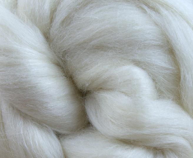 GROUP SALE - 50/50 18 micron merino/bleached tussah silk  - ONE POUND