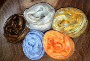 Wool 'n Silk kit -  FIVE OUNCES