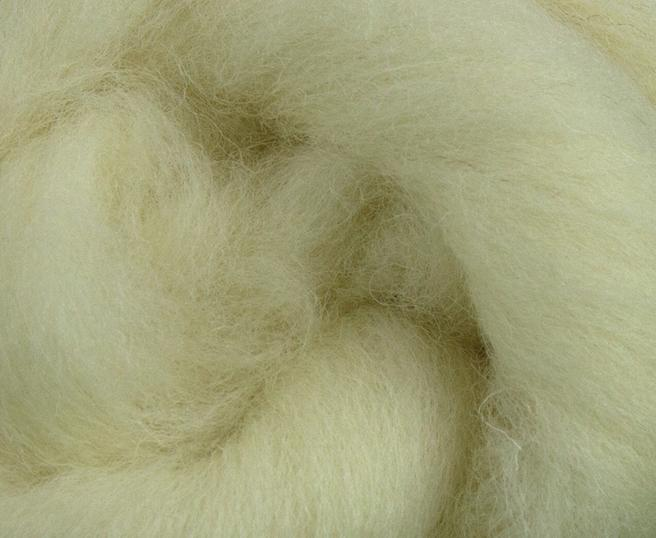 50% sale with coupon code- Radnor white combed top PER THE POUND