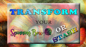 Transform you fiber stash into a thing of beauty