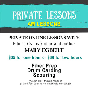 ONE OR TWO HOUR PRIVATE LESSONS WITH MARY EGBERT