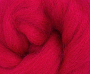 GROUP SALE - Corriedale DYED combed top - ONE POUND