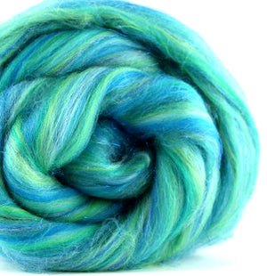 TROPICAL SEAS - Soft Merino and glitter
