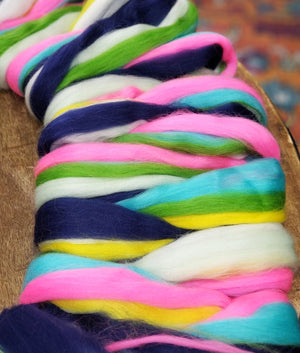 FLY AWAY - An artfully custom combed top soft merino - ONE OUNCE