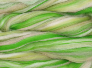 IRISH LASS - Soft 23 micron Merino  combed top - 4 ounce pack