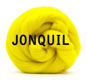 GROUP SALE -  *Give 3 weeks for delivery* 18 micron dyed merino - 1 pound. USE DROP DOWN TO CHOOSE COLOR