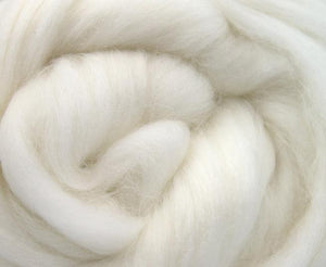 GROUP SALE - Angora white combed top - 1 POUND  *** Please give up to 3 weeks for delivery***
