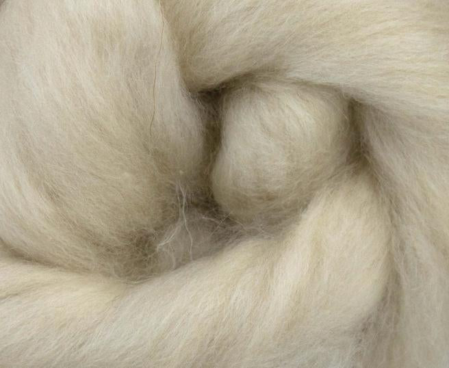 GROUP SALE - *Give 3 weeks for delivery* Chinese Cashmere combed top white, brown, cream - 1 POUND