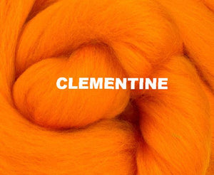 GROUP SALE! *Give 3 weeks to order* 23 micron merino DYED combed top - ONE POUND