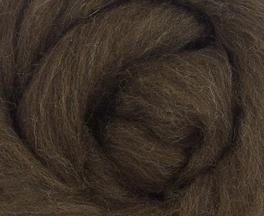 GROUP SALE - Corriedale natural brown combed top