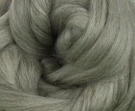 Corriedale natural grey combed top BUMP 22.2 pounds