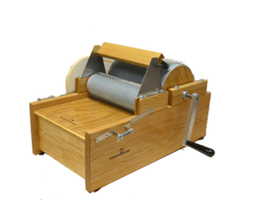 DELUXE BROTHER DRUM CARDER - FREE SHIPPING IN THE USA AND FREE ONLINE DRUM CARDING CLASS