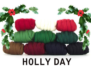 GROUP SALE -  HOLLY DAY  - 1.1 pounds