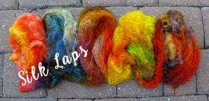 GROUP SALE - *Give up to 3 weeks for delivery*  Top grade mulberry silk filament sheet/ laps -  ONE POUND