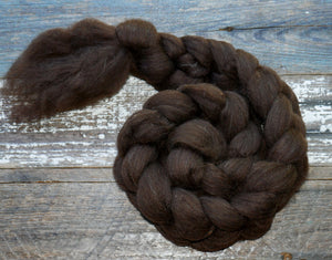 GROUP SALE - 24 micron merino natural brown.