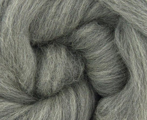 23 micron merino natural grey BUMP  -  22 pounds