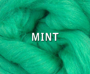 IN STOCK -  23 micron Merino MINT - 4 ounce pack