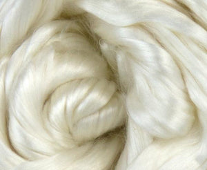 GROUP SALE - *Give up to 3 weeks for delivery*  Mulberry bombyx silk combed top - 1 POUND