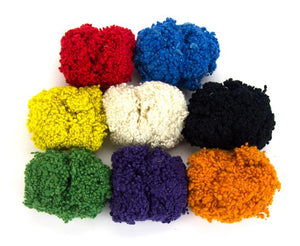 GROUP SALE - Wool neps mix - 7 ounces