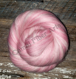 Classic Candy Cane - Baby Alpaca, 23 Micron Merino and Mohair.   1 POUND - GIVE UP TO 3 WEEKS FOR DELIVERY