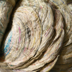 Sari silk waste roving- RAJ - one ounce