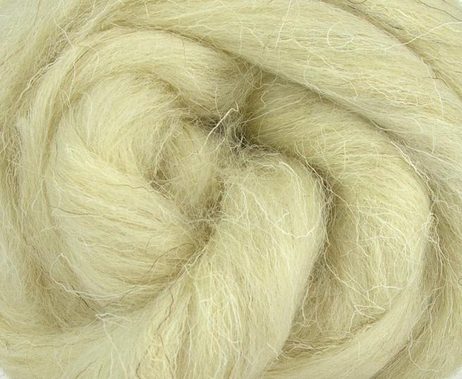 50% off sale with coupon code.- WELSH white  combed top - 1 OUNCE