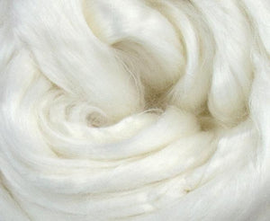 GROUP SALE - Bamboo undyed combed top - ONE POUND  *** Please give up to 3 weeks for delivery***