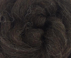* DEAL OF THE DAY! Zwartbles Combed Top NATURAL BROWN - 1 OUNCE