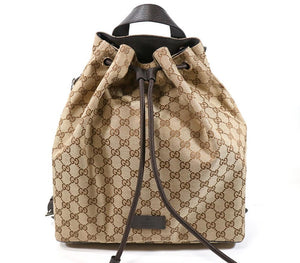 Gucci Original GG Canvas Beige/Brown Backpack