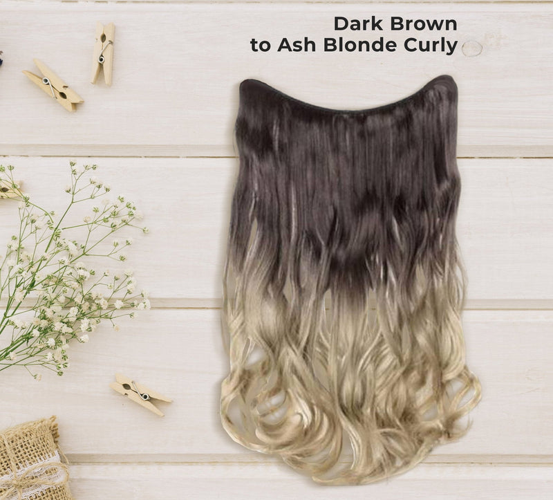 Invisible Halo Hair Extensions - Lourie